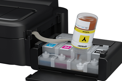 Epson Bringt Drucker Mit Nachf 252 Lltinte Epson Ecotank L355